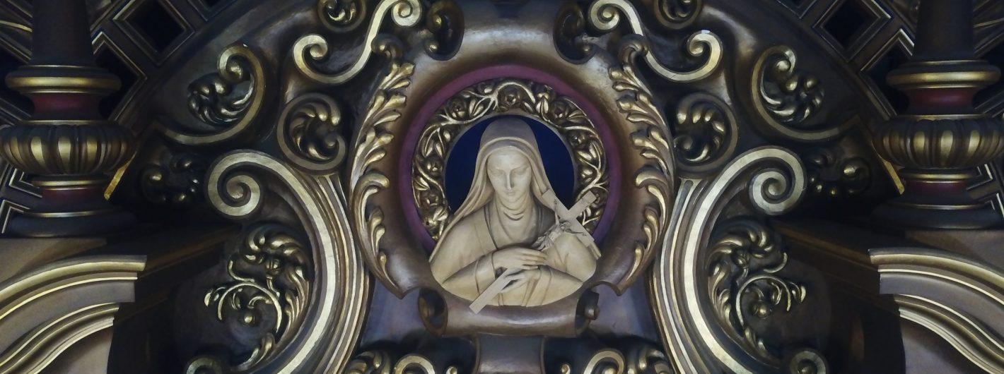 St Therese Reredos