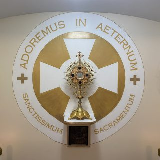Blessed Sacrament in a Monstrance