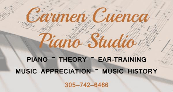 Carmen Cuenca Piano Studio